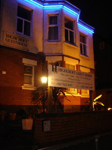 Guest House in Coventry Bed and Breakfast hotels. B&B, Hotel and Guest house holiday accommodation in Coventry.